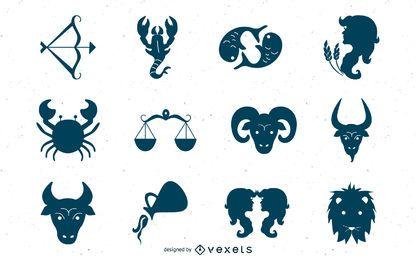 Iconos creativos del zodiaco