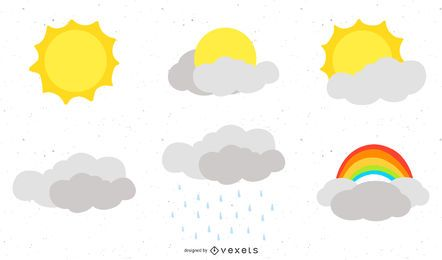 Weather Icons Vector 2