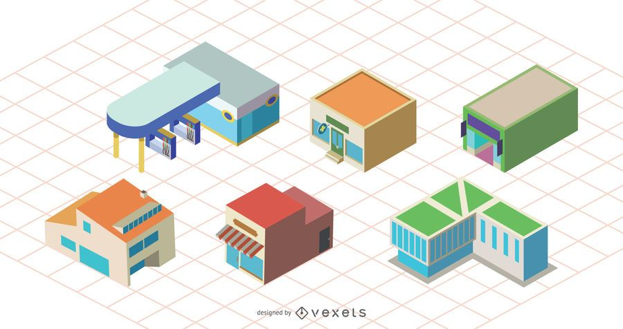 Vector Shop Building Icon