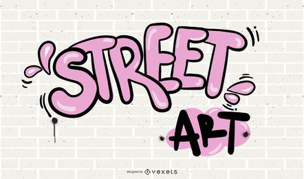 Hermoso Graffiti Font Design 01 Vector