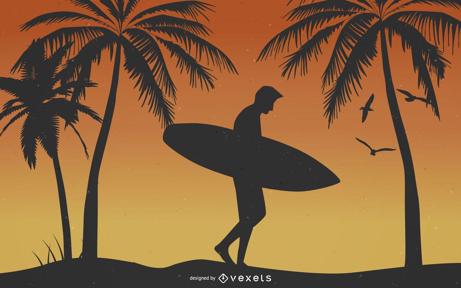 Classic Summer Illustrator Vector