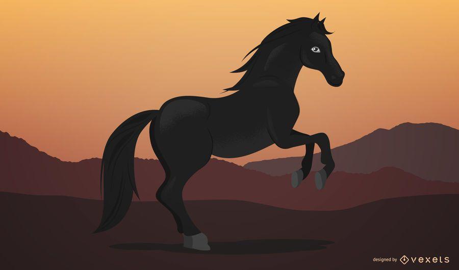 Pferd 03 Vektor