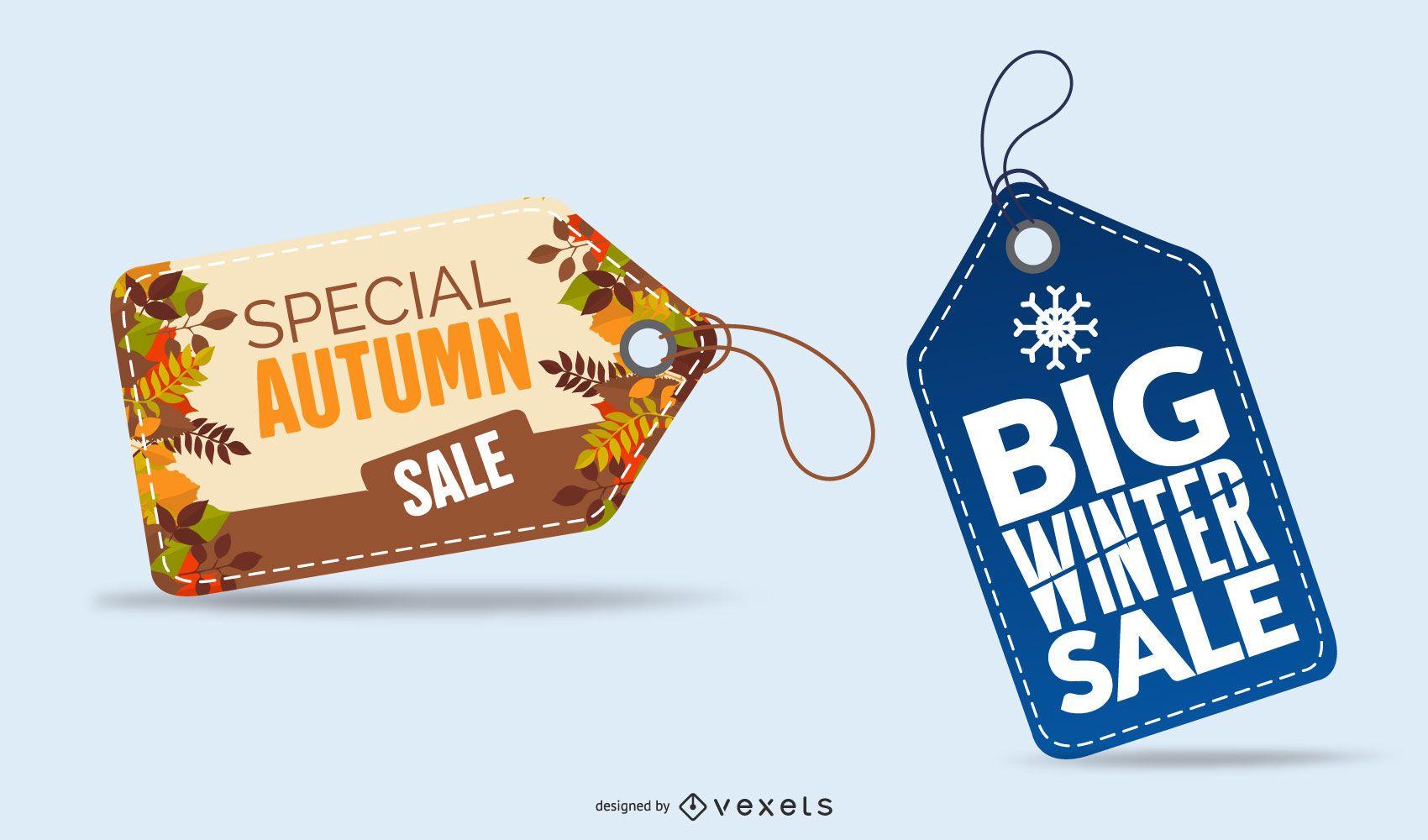 Kit of seasonal sales