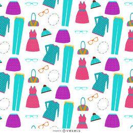 Patrón de elemento de ropa