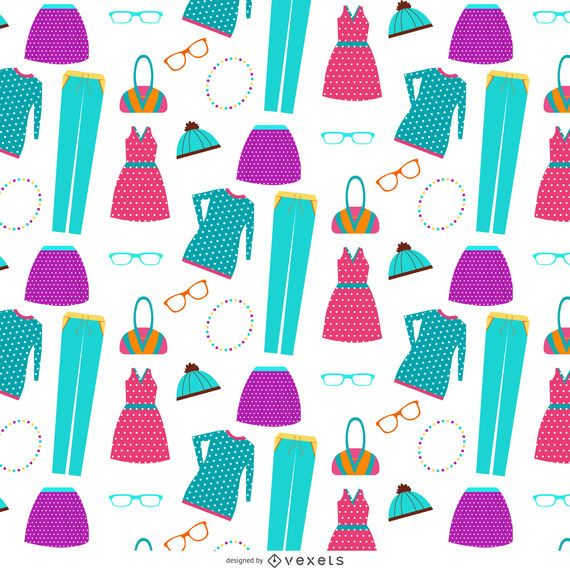 Clothes element pattern