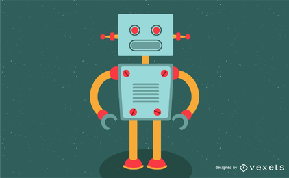 Simple Robot Vector