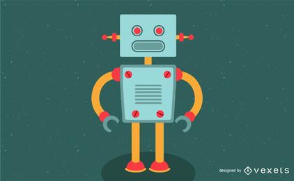 Vetor simples robô