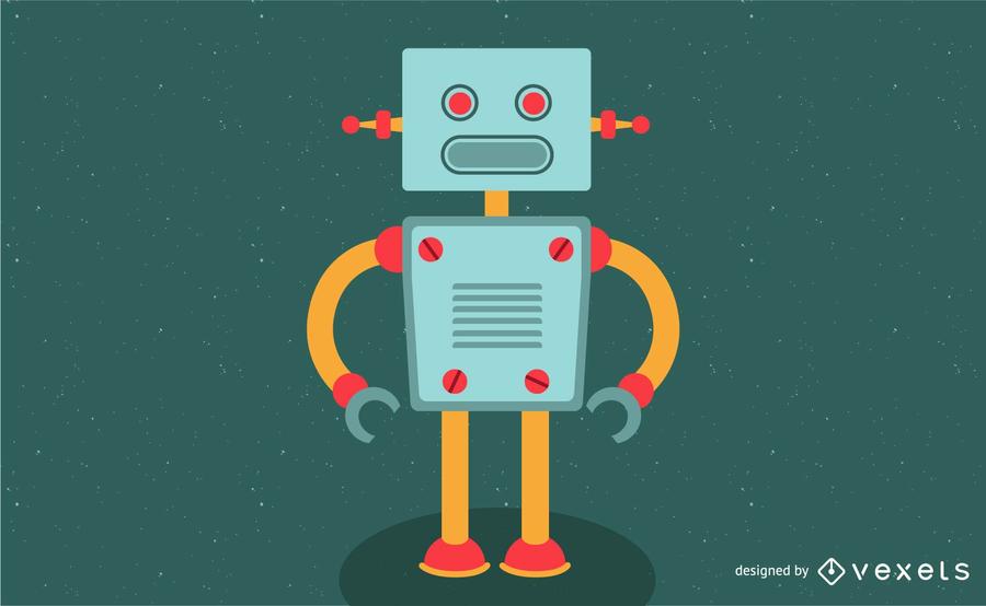 Einfacher Roboter-Vektor