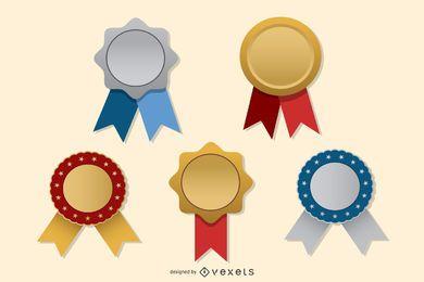 Medalla de medallas vectoriales