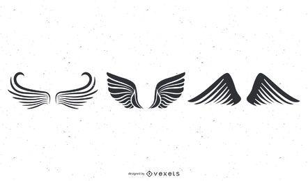 Totem-Vielzahl des Flügel-Vektors