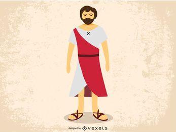 Imagen vectorial de Jesucristo