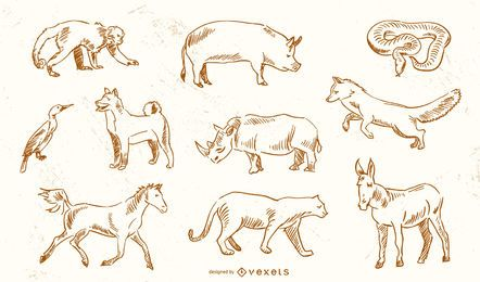 Animal Vectors From Jimiyo 2