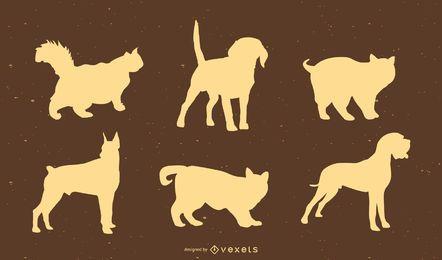 Haustier-Vektorgrafiken