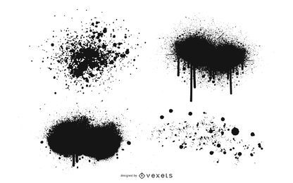 Ink Spray Vector
