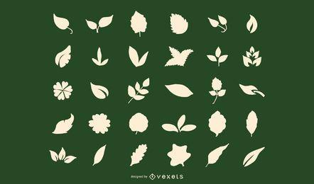 Silueta de Leafypod
