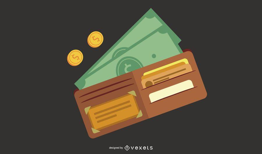 Vetor de dinheiro