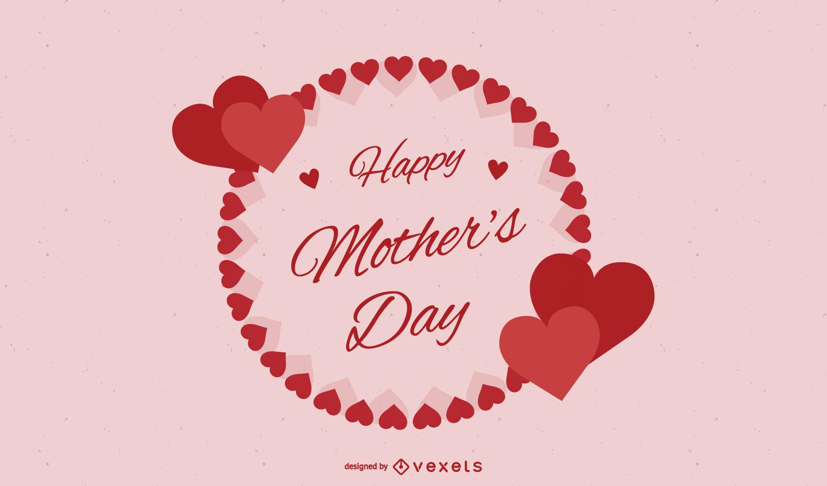 Vector Of Happy Mother
