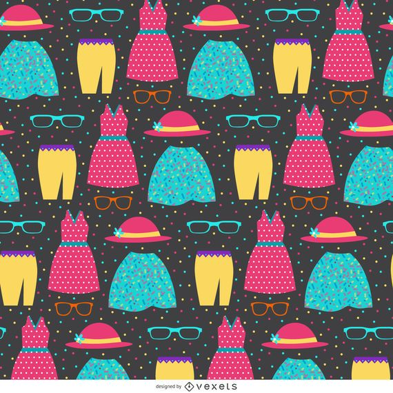 Seamless clothes pattern