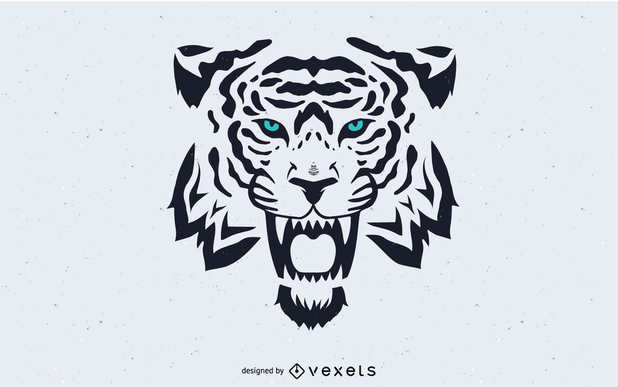 Tiger Head Image Vector