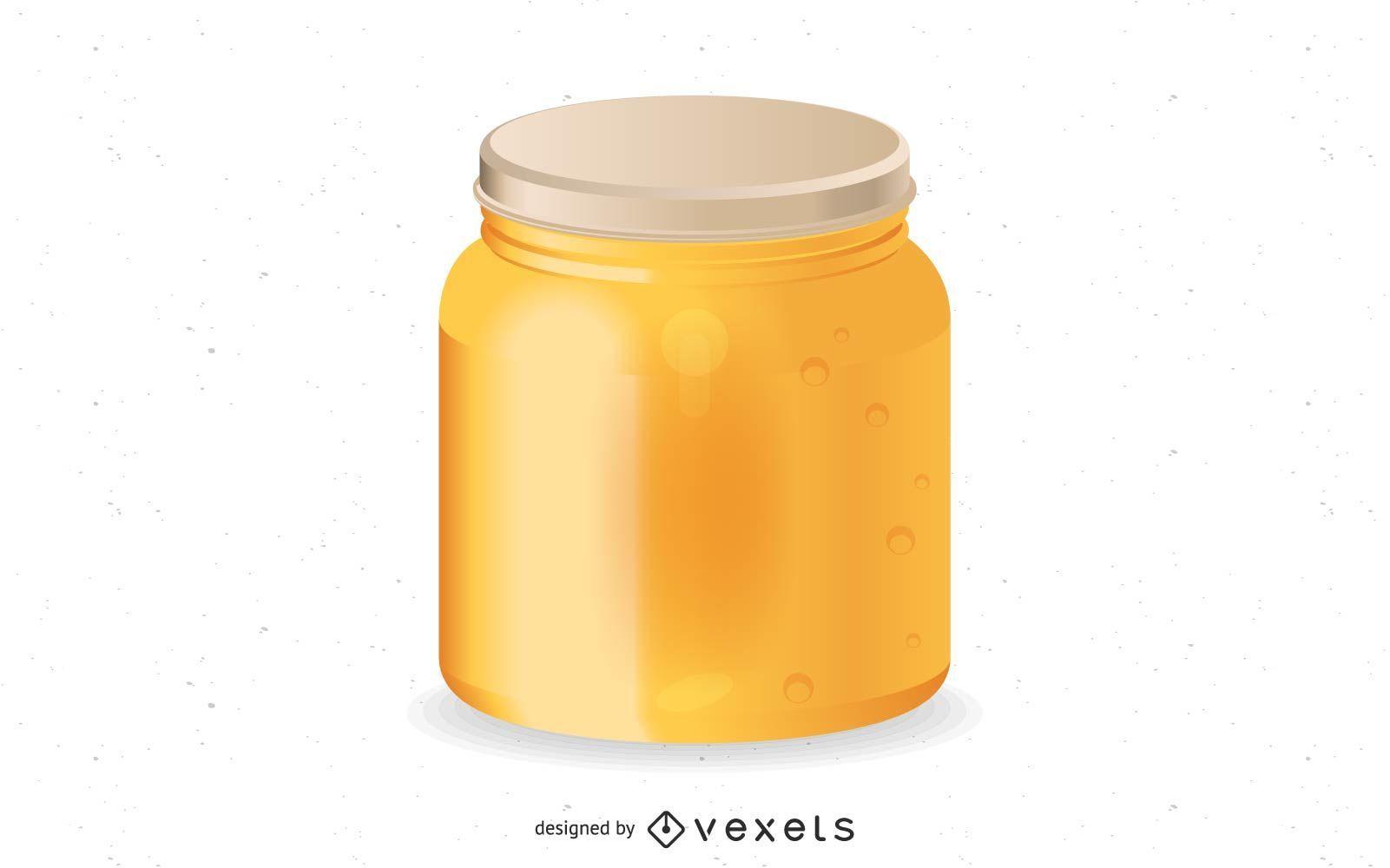 Vector miel original