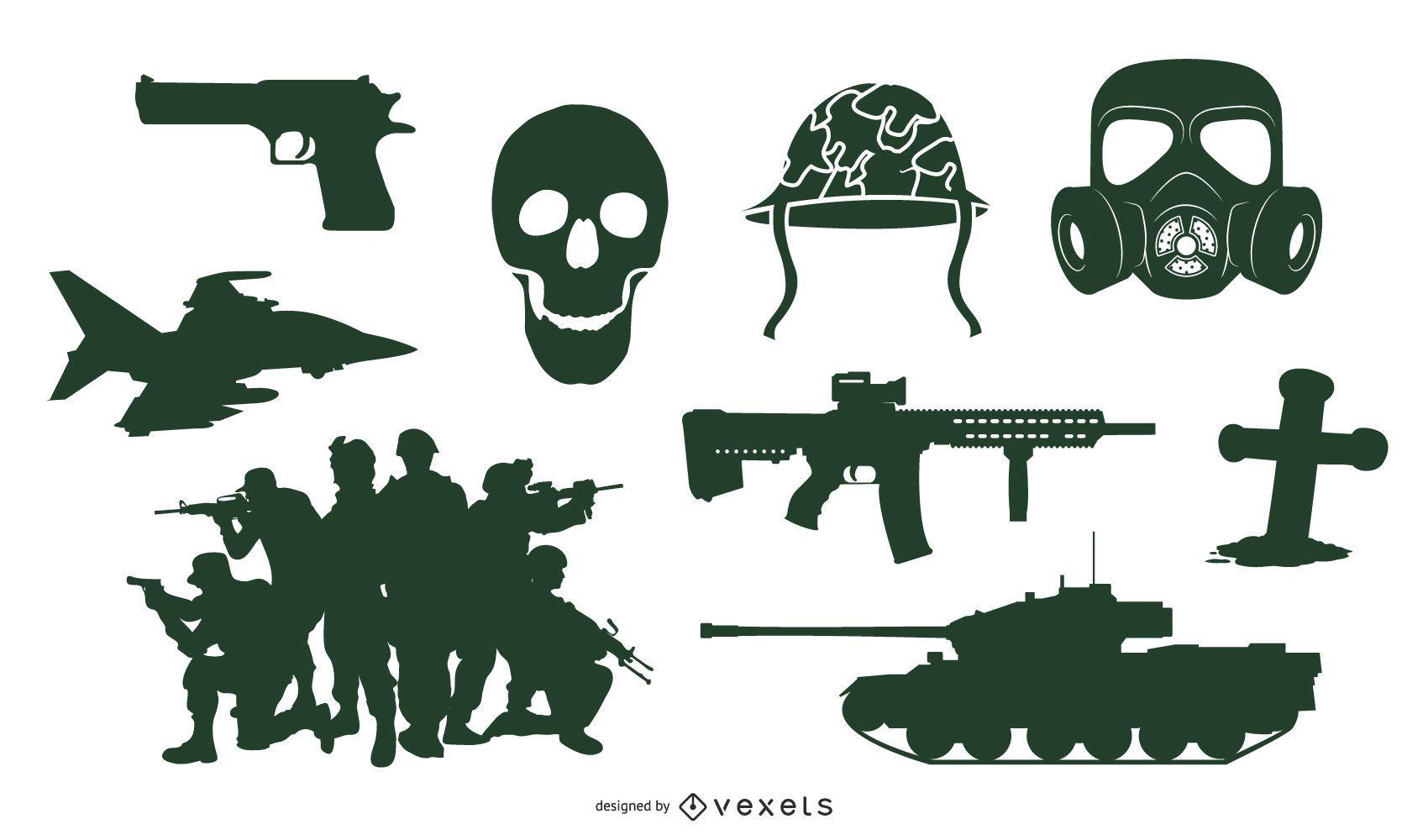Go Media Produced Vector War Theme