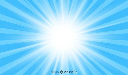 Luz e luz das estrelas Vector