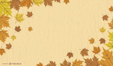 Maple Leaf Background Design