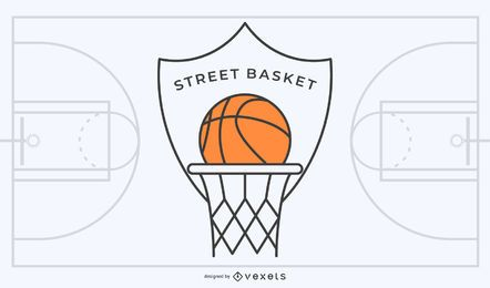 Street Basketball Logo