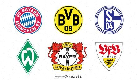 Fußball-Logo-Grafiken