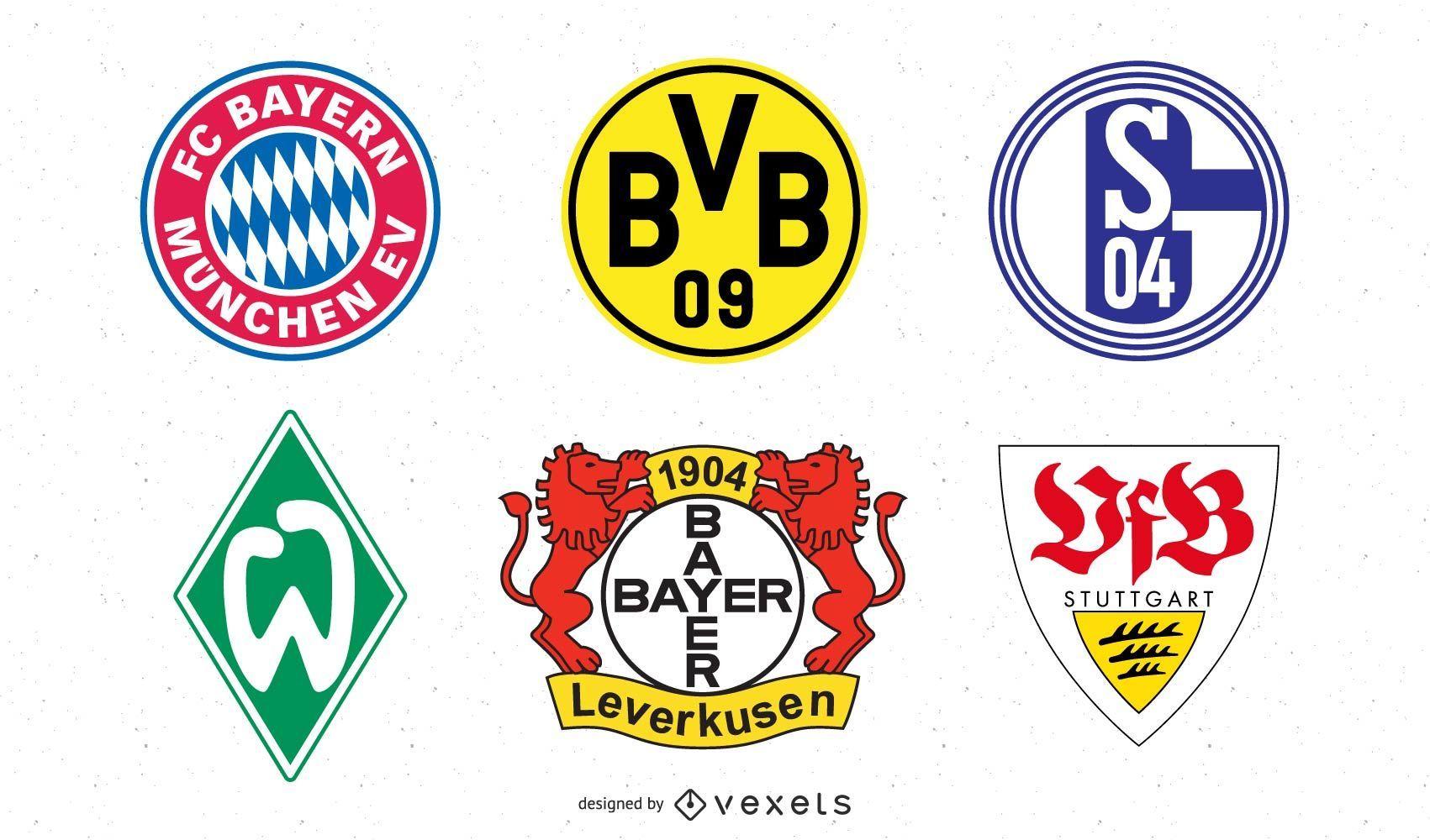 German Football Team Logo Pack