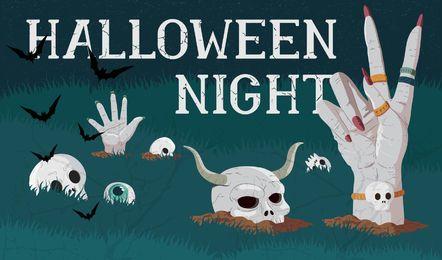 Vector de Halloween Wallpaper
