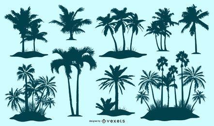 Vectores de la isla