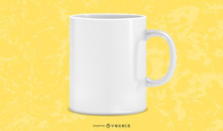 Free Vector Photorealistic White Cup