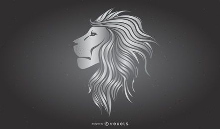 Cool O Metal Lions Vector