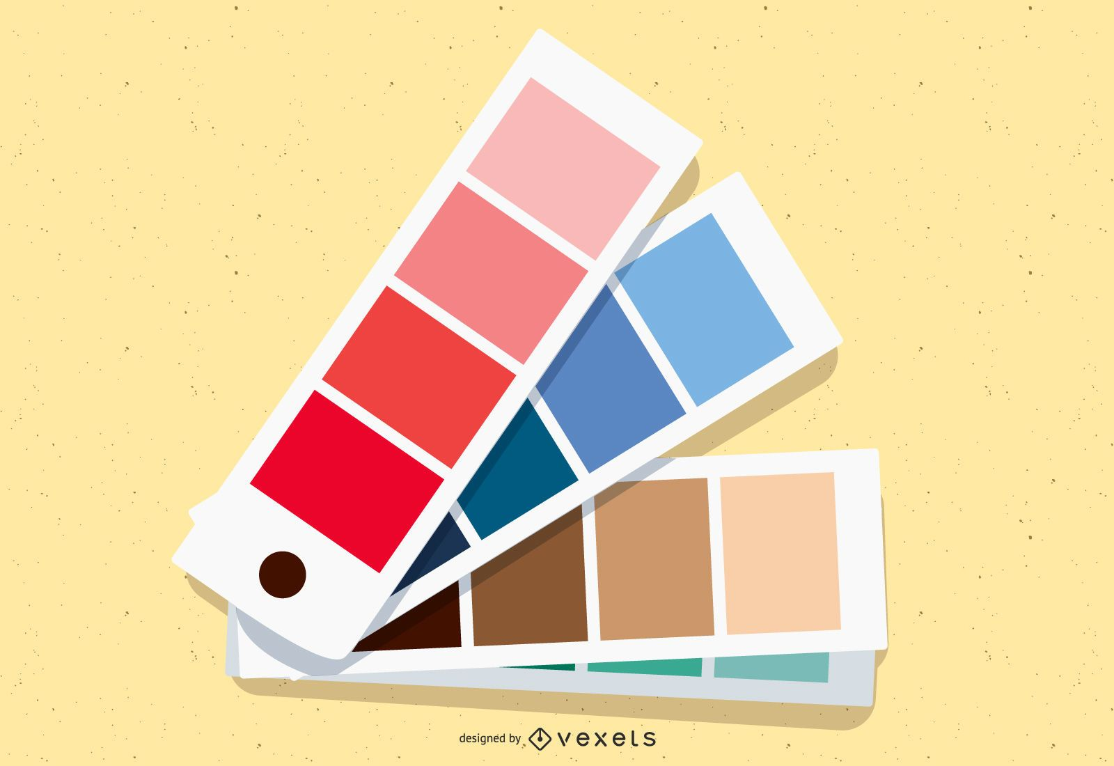 Four Seasons Color Shade Vector