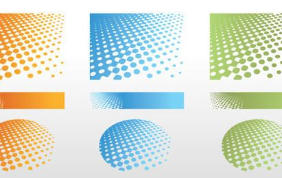 Dotted Semitone Background