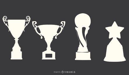 Vector de trofeo