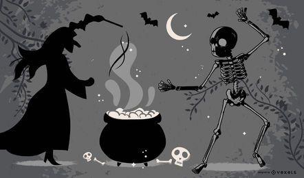 Halloween Posters Fine Vector