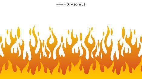 Schöner Flammen-Vektor-Clip 05