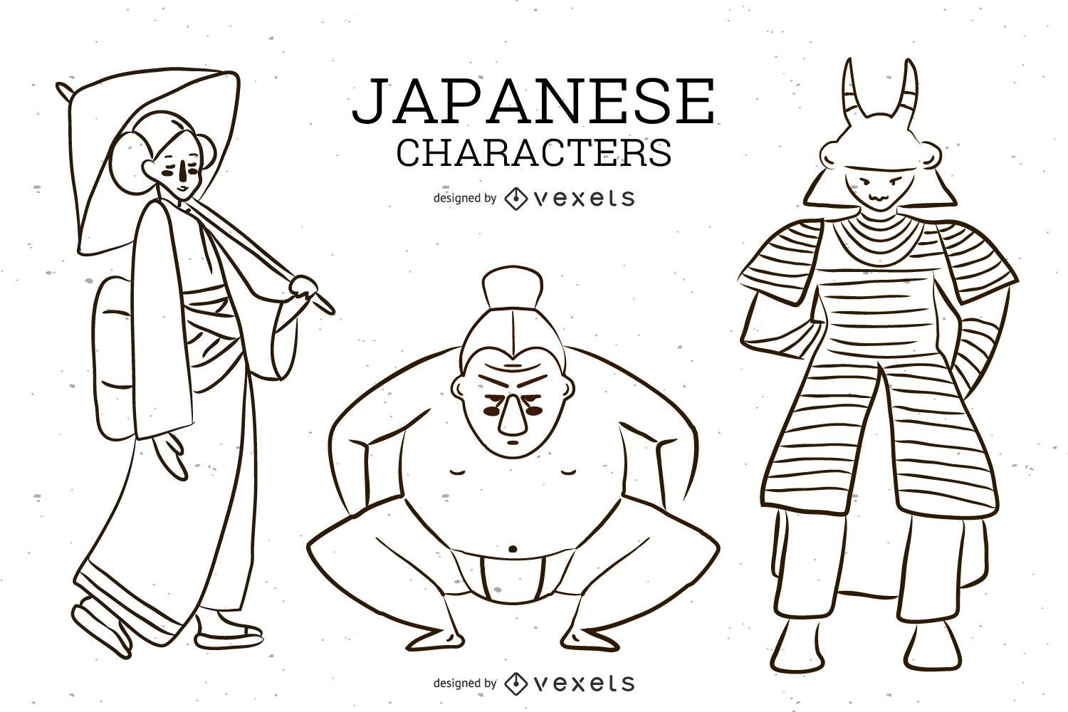 Japanese Character Vector