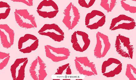 Beijo de arte gráfica vetorial livre
