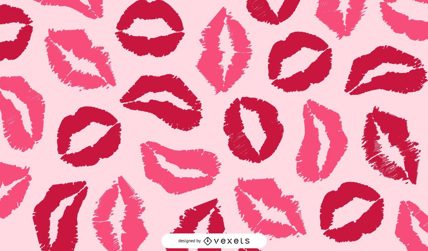 Free Vector Graphic Art Kiss