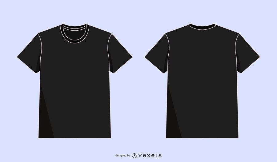Vektor-Illustration T-Shirt Designvorlage für Männer