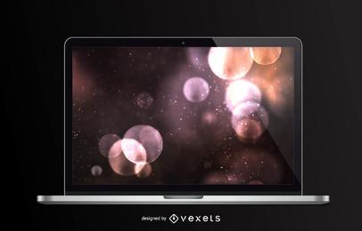 Diseño frontal de Macbook Pro