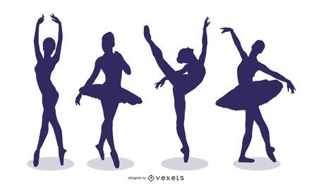 Vectores de ballet