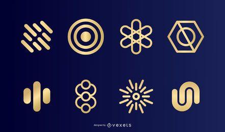 Símbolos de oro