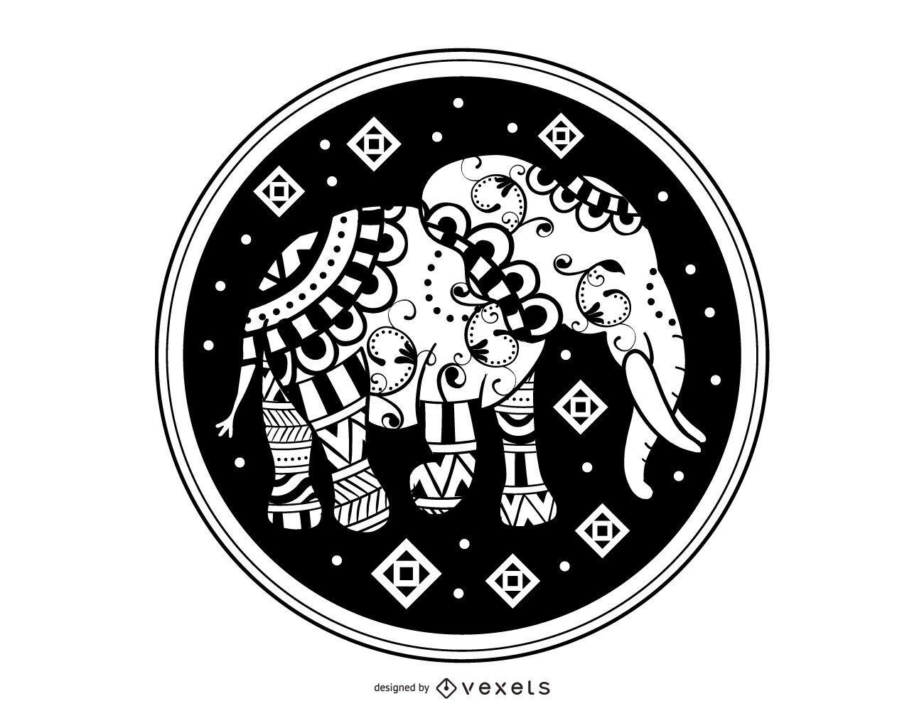 Elefante marroquí