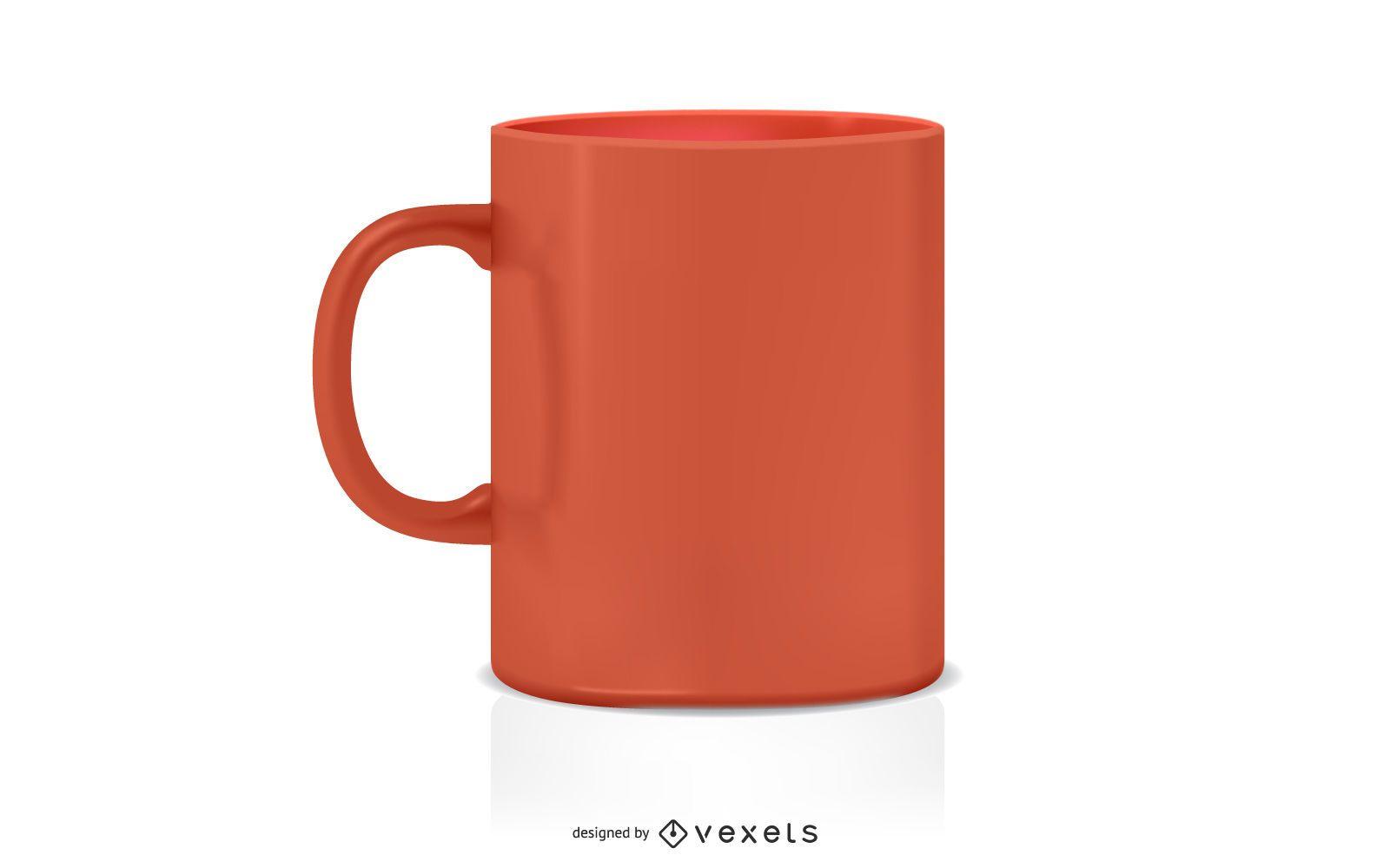 Diseño editable de taza de café