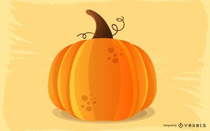 Pumpkin Vector Graphic