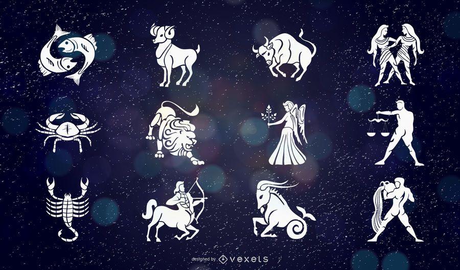 Vector livre do zodíaco